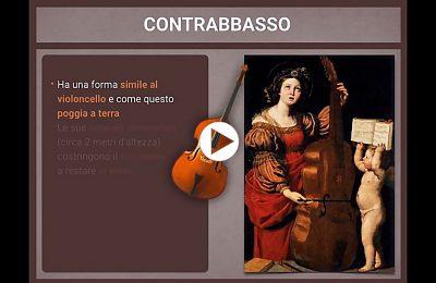 Strumenti musicali Cordofoni - il contrabbasso