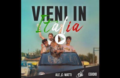 ALE, MATTI, EMI E EGIDIO - Vieni in Italia - youtube