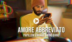 Papillon vintage swing band - Amore abbreviato